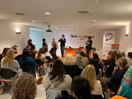 Acto de bienvenida al I Foro Europeo de Mujeres Sordas