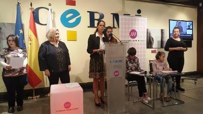 Inaugurada la exposición 'El derecho a la maternidad de las mujeres con discapacidad' en la sede de la Fundación CERMI Mujeres