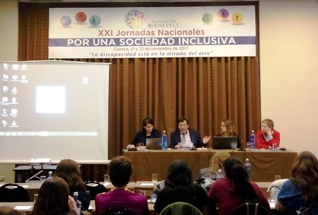jornadas nacionales 'Por una sociedad inclusiva' desde la perspectiva de género y discapacidad