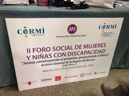 II Foro Social de Mujeres y Niñas con Discapacidad
