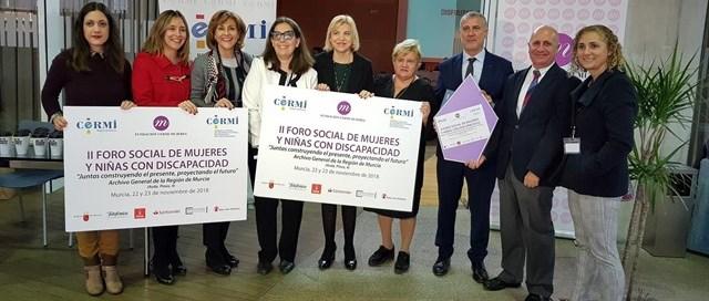Niñas y mujeres con discapacidad alzaron sus voces en Murcia contra la Violencia de Género y la exclusión estructural