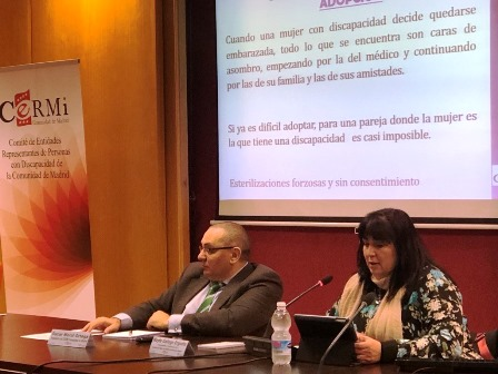 CERMI Madrid celebra una sesión formativa sobre violencia contra mujeres y niñas con discapacidad