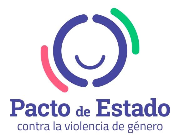Logo del Pacto de Estado contra la Violencia de Género