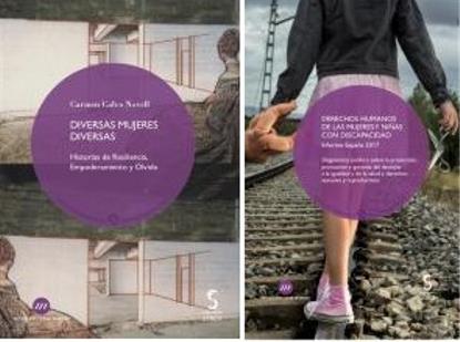 Portadas de 'Diversas mujeres diversas' y 'Derechos Humanos de las mujeres y niñas con discapacidad. España 2017' de la colección Generosidad