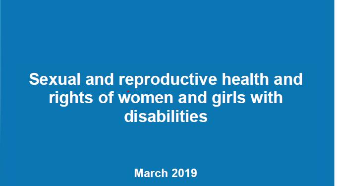 Logo del EDF - El Comité de Mujeres del Foro Europeo de la Discapacidad presenta su posicionamiento en relación a la salud y derechos sexuales y reproductivos de las mujeres y niñas con discapacidad