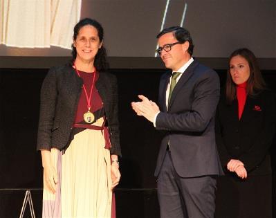Ana Peláez, medalla de Oro de la provincia de Badajoz, por su acción en favor de las mujeres con discapacidad