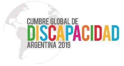 "Logotipo de la segunda ""Cumbre global de discapacidad"""