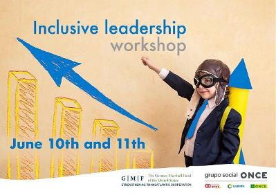 Cartel de Inclusive Leadership Workshop