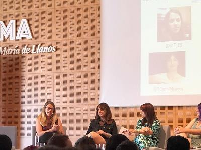 Momento durante el I Encuentro Intergeracional Feminista
