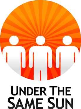 "Logotipo de la organización ""Under the same sun"""