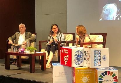Momento durante el I Encuentro Autonómico 'Empoderamiento político de mujeres con discapacidad'