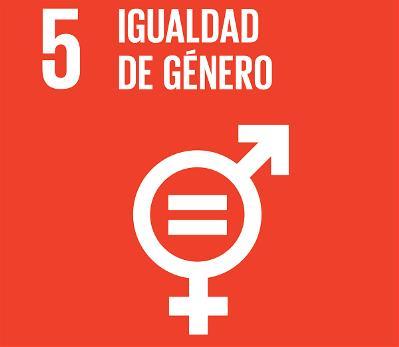 Logotipo del ODS 5