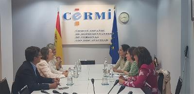 CERMI Mujeres plantea al PP las prioridades de las mujeres y niñas con discapacidad