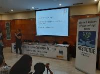 Momento de las III Jornadas de Encuentro de Mujeres Sordociegas de Fasocide