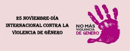 25 Noviembre - Día Internacional de la eliminación de la violencia contra la mujer