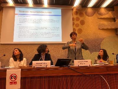 CERMI Mujeres participa en la sesión preparatoria del Examen Periódico Universal de derechos humanos a España