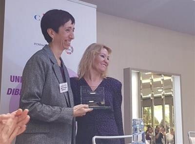 Carolina Alonso, alcaldesa de Villamuelas (Toledo), se ha incorporado al Patronato de la Fundación CERMI Mujeres