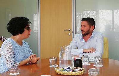 CERMI Andalucía expone ante el director general de violencia de género de la junta las necesidades específicas de las víctimas con discapacidad
