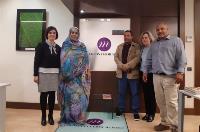 CERMI Mujeres ofrece a la ministra saharaui de asuntos sociales y promoción de la mujer colaboración en materia de género y discapacidad