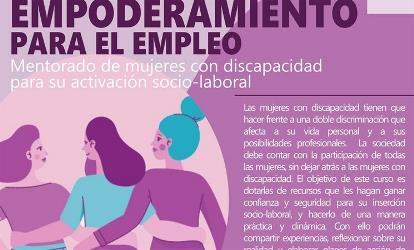 CERMI Extremadura y CERMI Mujeres cumplirán los compromisos internacionales con una iniciativa para eliminar la discriminación de las mujeres con discapacidad