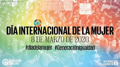 Imagen del día de la mujer 2020 de ONU Mujeres (Foto: Paula Kindsvater CC BY-SA 4.0)
