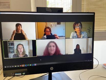 Reunión de CERMI Mujeres con la Casa Real