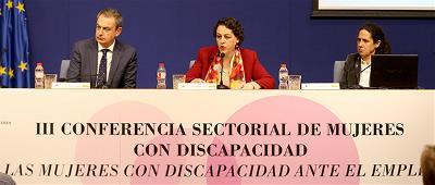 Imagen de la III Conferencia sectorial de Mujeres y Niñas con Discapacidad