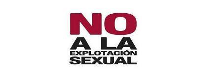 no a la explotación sexual