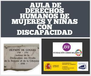 Comienzan las sesiones del Aula de Derechos Humanos de mujeres y niñas con discapacidad