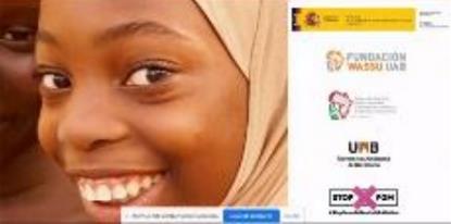 Imagen de portada del informe de la Mutilación genital femenina en España