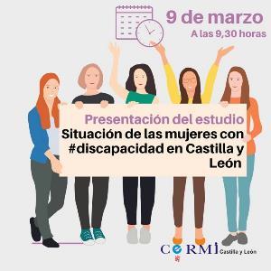 CERMI Castilla y León. Tres de cada diez mujeres con discapacidad no tienen estudios