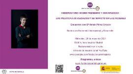 Cartel e invitación del Observatorio realizado por CERMI Mujeres