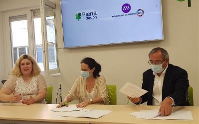 La Fundación CERMI Mujeres y Plena Inclusión Mujeres se unen para defender los derechos de las mujeres con discapacidad intelectual