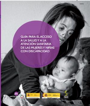 Portada de la guía de FCM de acceso a la salud y a la atención sanitaria para mujeres y niñas con discapacidad