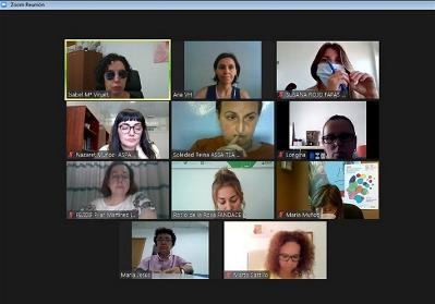 Reunión de trabajo de la Comisión de mujeres de CERMI Andalucía