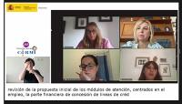Momento de la jornada 'Las personas con discapacidad en la nueva legislación española de cooperación internacional', organizada por el CERMI